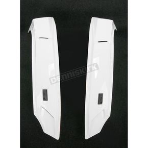 Icon White Super Vent for Icon Alliance Helmets - 0133-0586