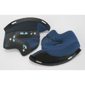 HJC Blue Cheek Pad Set for HJC RPS-10 Helmet - 1550-024