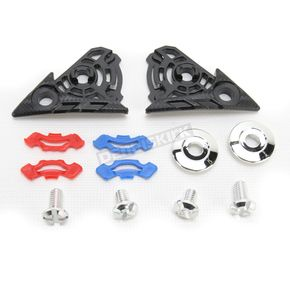 AGV Pivot Kit w/Screws for AX-8 Dual Sport Helmets - KIT76024999