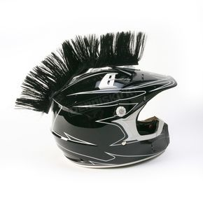 HAIRY-RS Black Helmet Mohawk - HM104