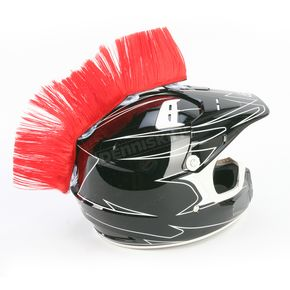 HAIRY-RS Red Helmet Mohawk - HM107