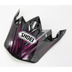 Shoei Helmets Black/White/Purple VFX-W Crosshair Visor - 0245-6075-10