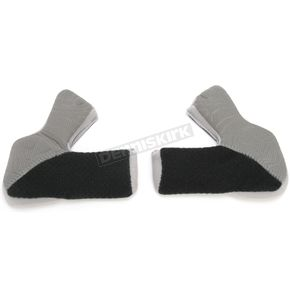 Klim Dark Gray Cheek Pads for Klim F4 Helmets - 10mm - 3306-402-010-903