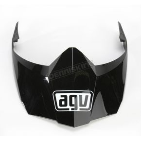 AGV Black AX-8 Dual Sport Evo Visor w/Screws - KIT76108001