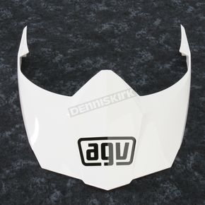 AGV White AX-8 Dual Sport Evo Visor w/Screws - KIT76109001