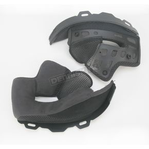 Bell Helmets Soft Black Cheek Pad Set for XS - SM Star Helmets - 2024452