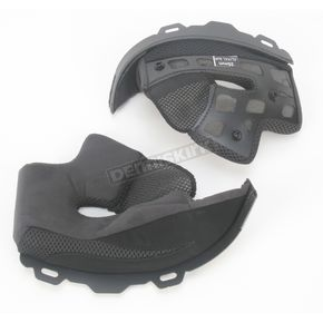 Bell Helmets Soft Black Cheek Pad Set for XL - XXL Star Helmets - 2024462