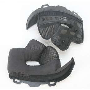 Bell Firm Black Cheek Pad Set for M - L Star Helmets - 2024472