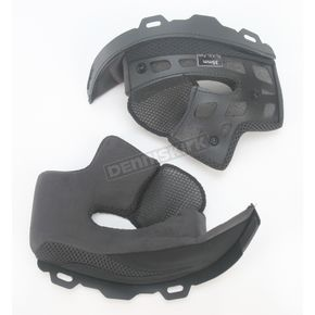Bell Firm Black Cheek Pad Set for XL - XXL Star Helmets - 2024477