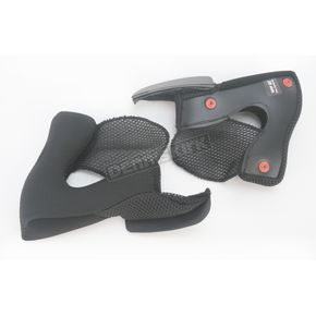 Bell Helmets Grey Cheek Pad Set for Revolver Helmets - 2026969