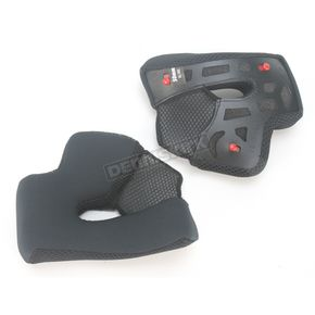 Bell Helmets Black Cheek Pad Set for XL - XXL Vortex Helmets - 2022681