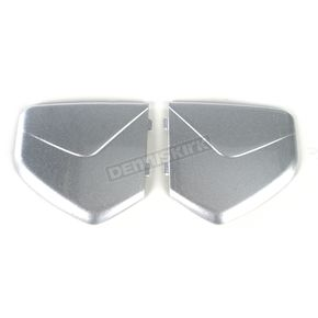 AFX Silver Pivot Covers for AGV Helmets - 0133-0646