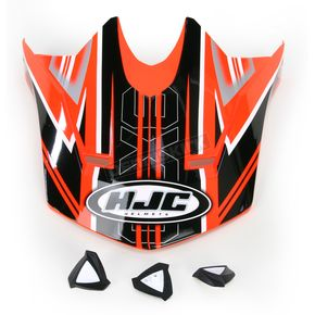 HJC Orange/Black Visor for HJC CL-X6 Slash Helmet - 732-969