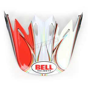 Bell Helmets Black/Red Visor Kit for Moto 9 Tilt Helmets - 2035454