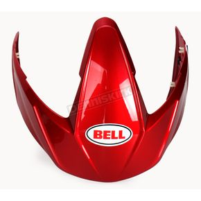 Bell Helmets Candy Red Visor Kit for Mag 9 Helmets - 2035464