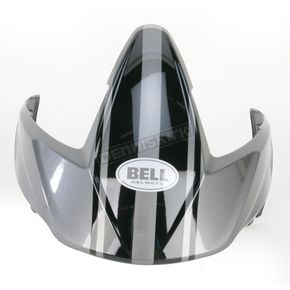 Bell Titanium/Black Visor Kit for Mag 9 Rally Helmets - 2035465