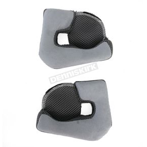 Gray Cheek Pads for Mag 9 Helmets