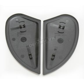 Icon Black Sideplates for Airmada Helmets - 0133-0672