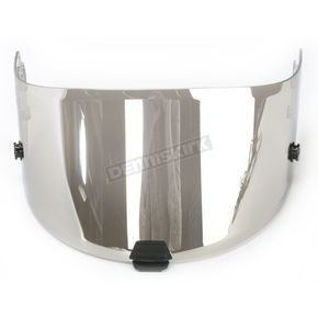 HJC RST Mirrored Silver RPHA-10 Pinlock Ready Tear-Off Shield - 0901-9507-00