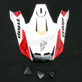 Thor Red Visor Kit for Thor Verge Helmets - 0132-0730