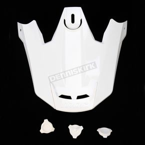 Thor White Visor Kit for Thor Verge Helmets - 0132-0734