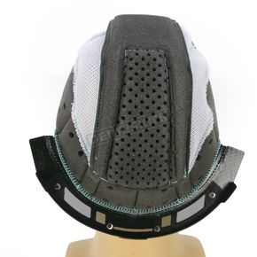 Thor Gray/Cyan Liner for Thor Verge Helmets - 0134-1491