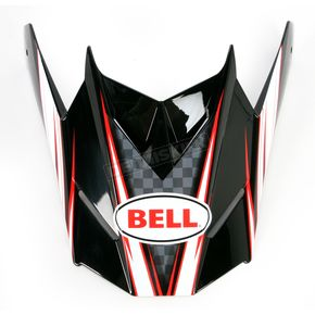 Bell Helmets Red/White/Black SX-1 Reactor Visor  - 8005619
