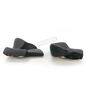 Bell Helmets Black 40mm Cheek Pad Set for X-Small and Small RS-1 Helmets - 8003969