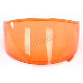 Shoei Helmets Hi-Def Orange CWR-1 Shield w/Pinlock Pins - 0209-9406-00