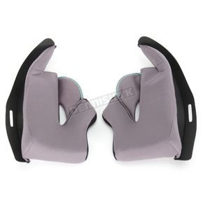 HJC Gray CL-17 Helmet Cheek Pads - 824-021