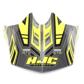HJC Hi-Vis Yellow/Charcoal MC-3H CL-X6 Fulcrum Helmet Visor - 0962-6017-13