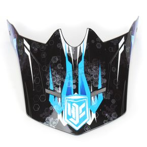 HJC Youth Blue/Black/White MC-2 Visor - 0963-6020-02