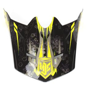 HJC Youth Black/Yellow MC-3 Visor - 0963-6020-03