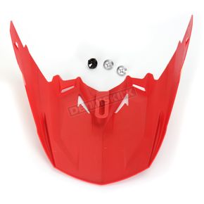 HJC Red/Orange/Yellow MC-1 Visor - 0964-6020-01