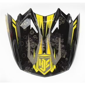 HJC Black/Yellow MC-3 Visor - 0964-6020-03