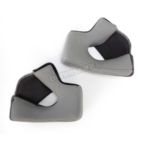 Bell Helmets Black Cheek Pad Set for Qualifier Helmets - 40mm - 8013365