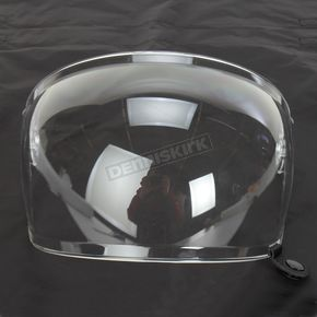 Bell Helmets Clear Bubble Shield with Black Tab for Bullitt Helmets - 8013381
