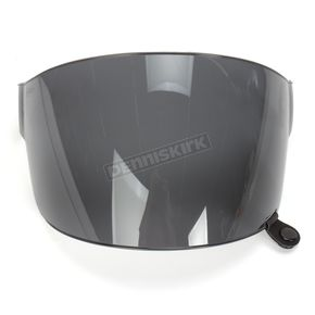 Bell Helmets Dark Smoke Flat Shield with Black Tab for Bullitt Helmets - 8013378