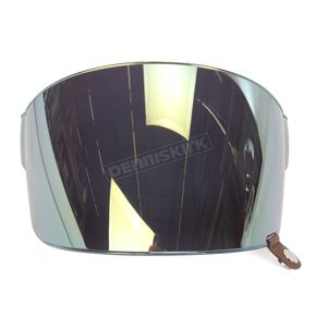 Bell Helmets Iridium Gold Flat Shield with Brown Tab for Bullitt Helmets - 8013385