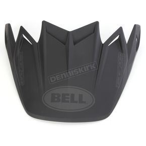 Bell Helmets Matte Black Visor for Moto-9 Carbon Flex Syndrome Helmet - 8031061