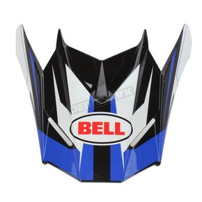 Bell Helmets Blue/Black/White Visor for SX-1 Storm Helmet - 8031116