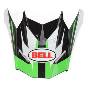 Bell Helmets Green/Black/White Visor for SX-1 Storm Helmet - 8031118