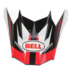 Bell Helmets Red/Black/White Visor for SX-1 Storm Helmet - 8031119