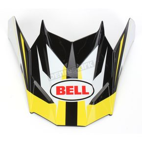 Bell Helmets Yellow/Black/White Visor for SX-1 Storm Helmet - 8031120