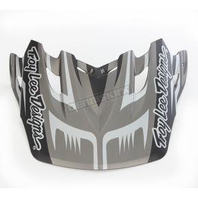 Troy Lee Designs Matte Black/Gray Scratch Visor for Air Helmet - 153010200
