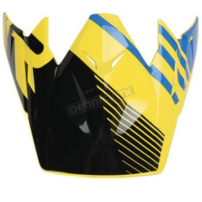 Z1R Black/Yellow/Blue Roost SE Visor - 0132-0911