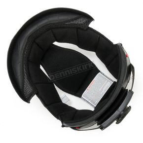 HJC Black CL-Ironroad Half Helmet Liner - 9mm - 0920-3005-04