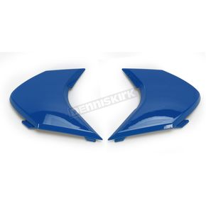 Icon Blue Sideplates for Variant Raiden Helmets - 0133-0864