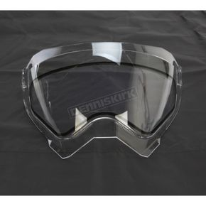AFX Clear Dual Lens Snow Shield for the FX-41DS Dual Sport  Helmet - 0130-0603
