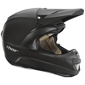 Thor Force Matte Black Helmet - 0110-2414